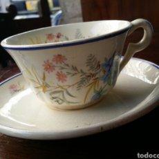 Antigüedades: TAZA DE CAFÉ O TE MARIANO POLA GIJON. Lote 85115680