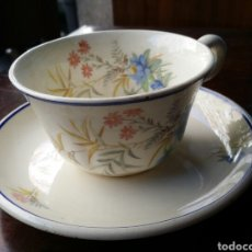Antigüedades: TAZA DE CAFÉ O TE MARIANO POLA GIJON. Lote 85116051
