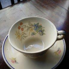 Antigüedades: TAZA DE CAFÉ O TE MARIANO POLA GIJON. Lote 85116319