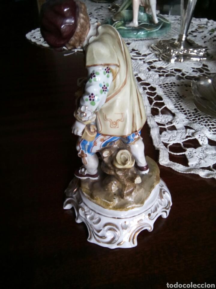Antigüedades: * ANTIGUA PORCELANA TIPO MEISSEN. (Rf:GV/a*.) - Foto 3 - 85232787