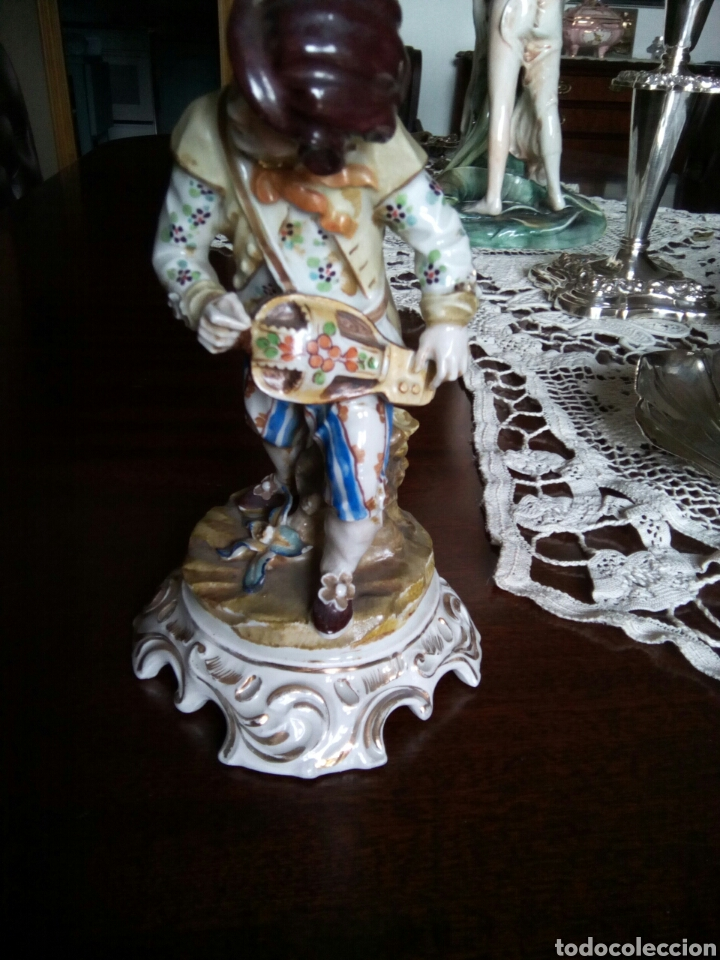 Antigüedades: * ANTIGUA PORCELANA TIPO MEISSEN. (Rf:GV/a*.) - Foto 4 - 85232787