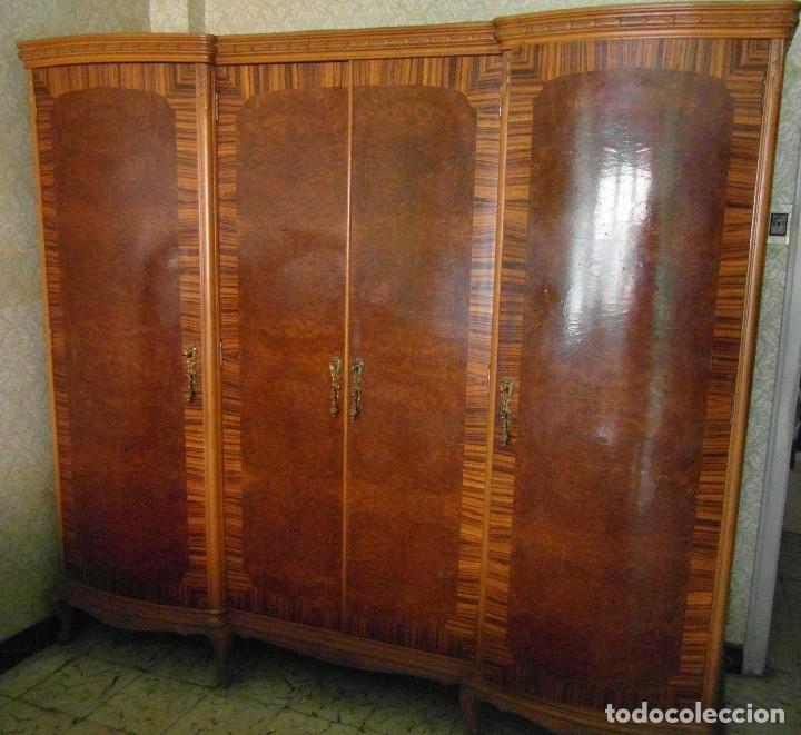 Antiguo armario ropero 4 puertas comprar armarios - Armarios roperos antiguos ...