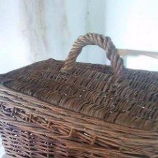 Antigüedades: CESTA DE PESCADOR. Lote 85245824