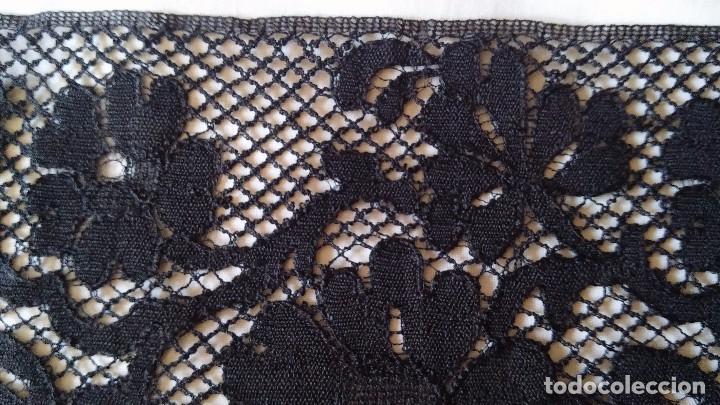 Antigüedades: Encaje negro - Foto 4 - 85283688