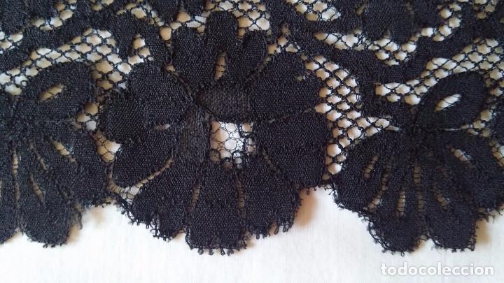 Antigüedades: Encaje negro - Foto 5 - 85283688