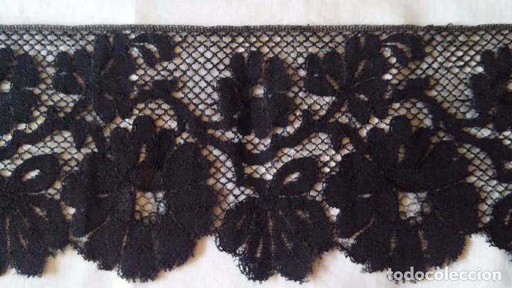 Antigüedades: Encaje negro - Foto 7 - 85283688