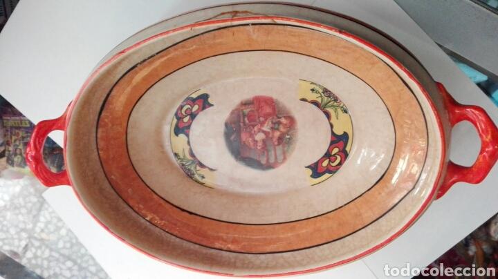 SOPERA PORCELANA SFACA SEVILLA ART NOUVEAU (Antigüedades - Porcelanas y Cerámicas - San Juan de Aznalfarache)