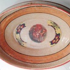 Antigüedades: SOPERA PORCELANA SFACA SEVILLA ART NOUVEAU. Lote 85298016