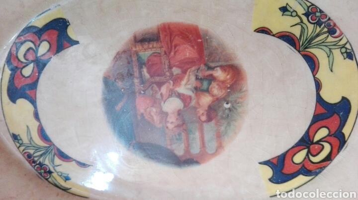 Antigüedades: Sopera porcelana sfaca sevilla art nouveau - Foto 2 - 85298016