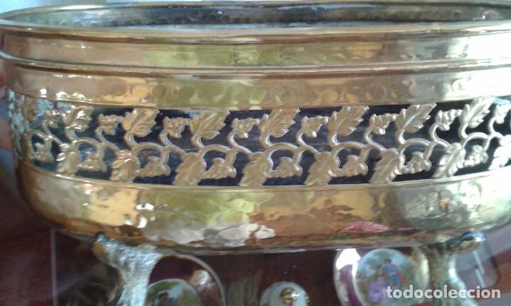 Antigüedades: Jardinera de latón - Foto 5 - 85310480