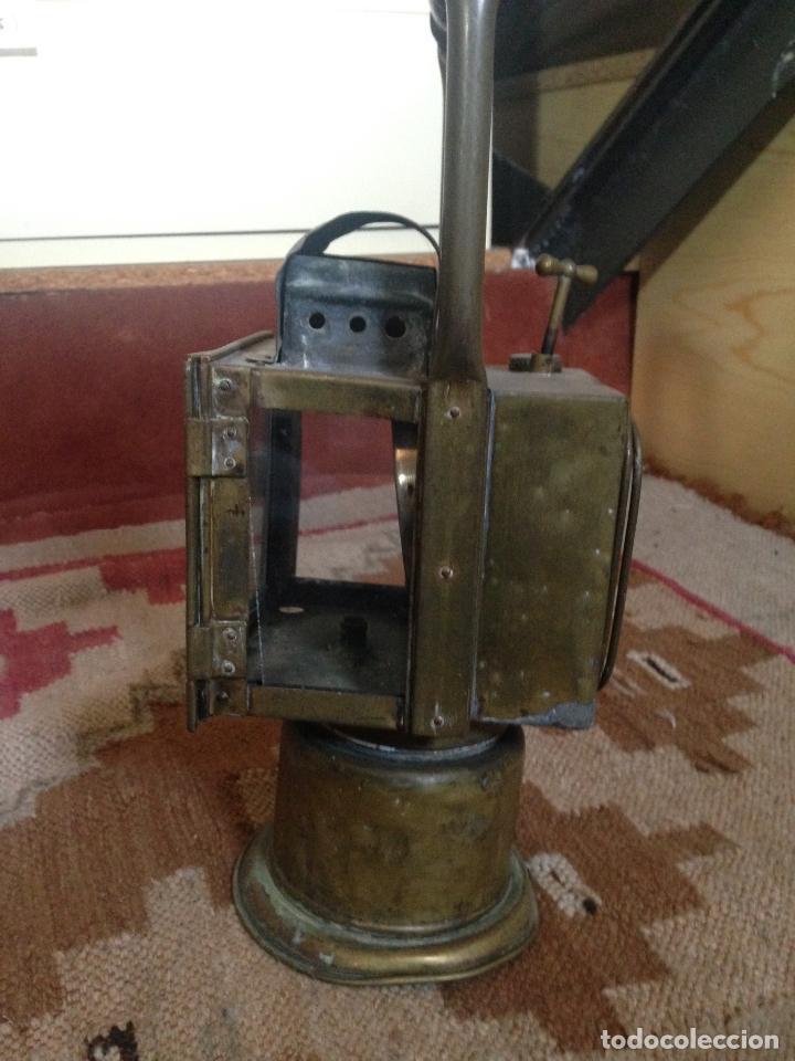 Antigüedades: Farol ferroviario renfe - Foto 2 - 85343240