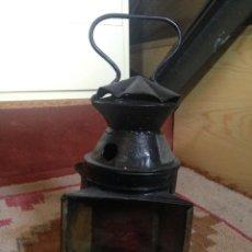 Antigüedades: FAROL FERROVIARIO RENFE. Lote 85343552