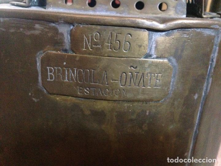 Antigüedades: Farol ferroviario renfe - Foto 2 - 85344404