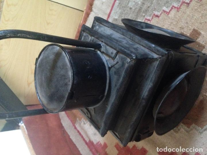Antigüedades: Farol ferroviario renfe - Foto 3 - 85345896