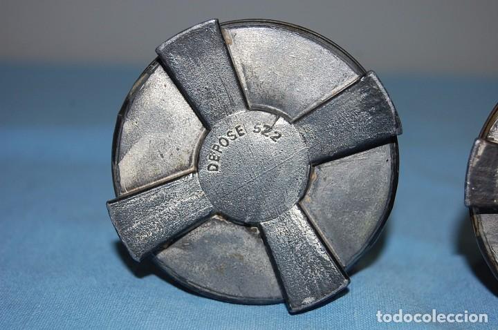 Antigüedades: PAREJA DE FLOREROS MODERNISTAS DE 1930 - Foto 4 - 85356488
