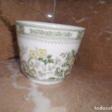 Antigüedades: MACETERO O RECIPIENTE PORCELANA SAN CLAUDIO IRONSTONE KANTONE. Lote 85361232
