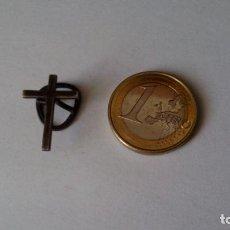 Antigüedades: ANTIGUA CRUZ DE OJAL SACERDOTAL EN PLATA. Lote 85418120