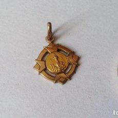Antigüedades: ANGEL DE PORTUGAL (VIRGEN DE FATIMA) - PRECIOSA Y ANTIGUA MEDALLA DORADA. Lote 85420072