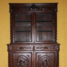 Antigüedades: APARADOR/ ALACENA/ VITRINA RENACIMIENTO. REF. 6021. Lote 85453668