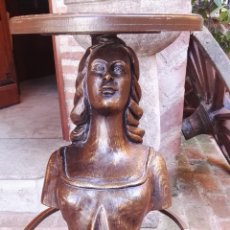Antigüedades: TABURETE MASCARÓN. Lote 85462944
