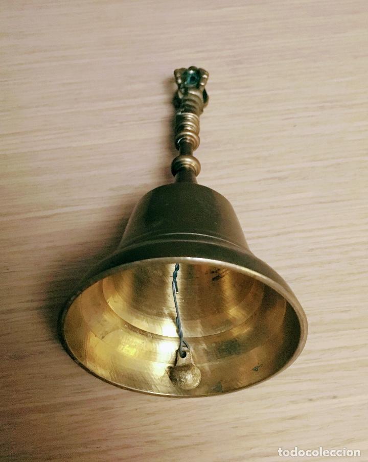 Antigüedades: ANTIGUA CAMPANA BRONCE XVIII - Foto 4 - 85489368