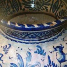 Antigüedades: ESCUPITERA CERAMICA ESMALTADA DE TRIANA. Lote 85498640