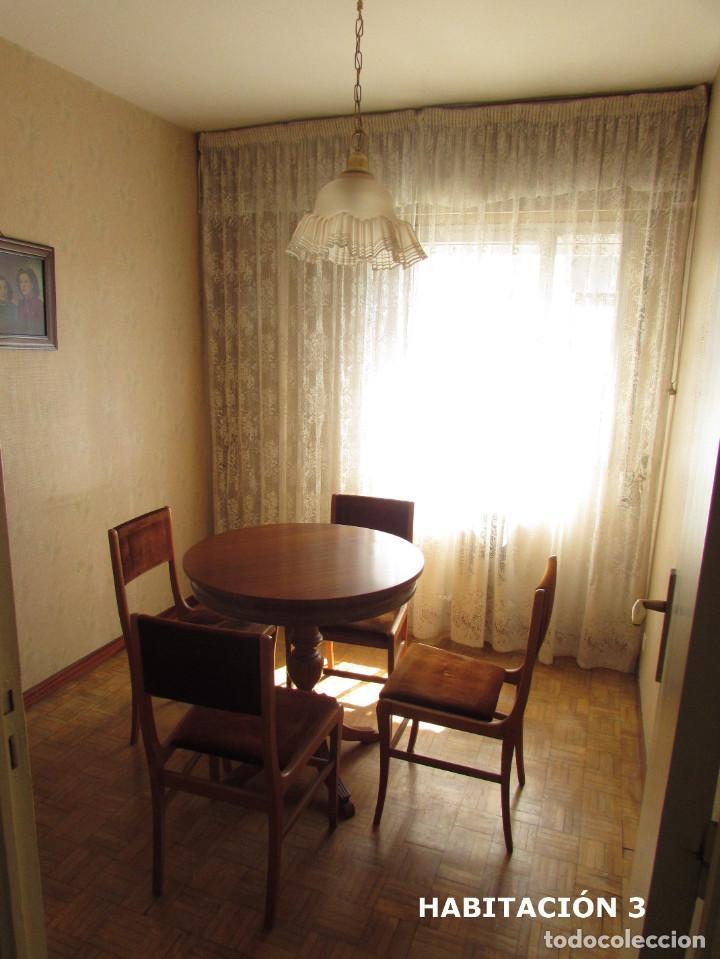 Mesa de madera redonda extensible con cristal y comprar for Recoger muebles