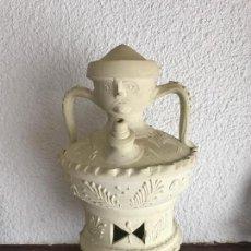 Antigüedades: ELEGANTE BOTIJO O CÁNTARO EN FORMA DE CARA DE ESTILO PICASSO. . Lote 85525360