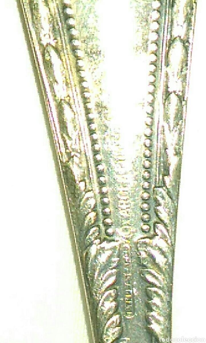 Antigüedades: ANTIGUOS CUBIERTOS DE METAL PLATEADO ARGENTUM VER FOTOS - Foto 10 - 85530628