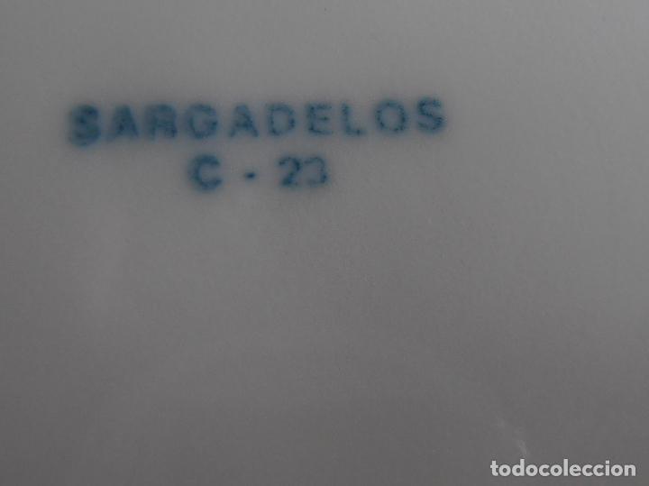 Antigüedades: PLATO SARGADELOS, COLEXIO MANUEL PELETEIRO, 1951 CINCUENTENARIO 2001 - Foto 2 - 85551188
