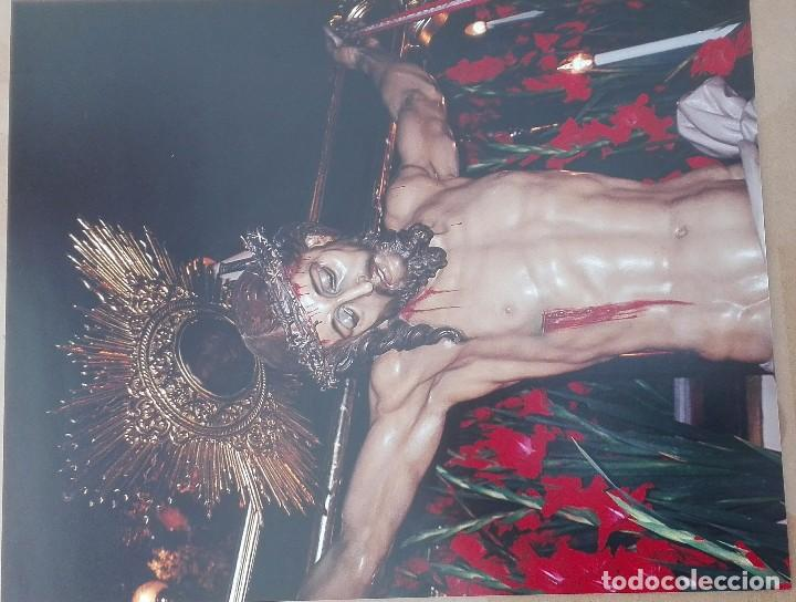 FOTOGRAFIA SANTISIMO CRISTO DEL BUEN SUCESO ELDA-ALICANTE (Antigüedades - Religiosas - Varios)