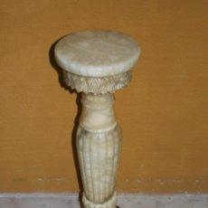 Antigüedades: PEDESTAL, PEANA, COLUMNA DE MARMOL. REF. 6028. Lote 85645440