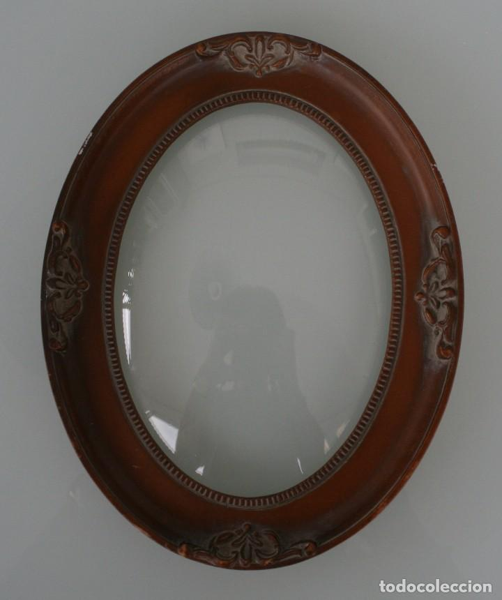 precioso marco de resina ovalado con adornos fl - Comprar Marcos ...
