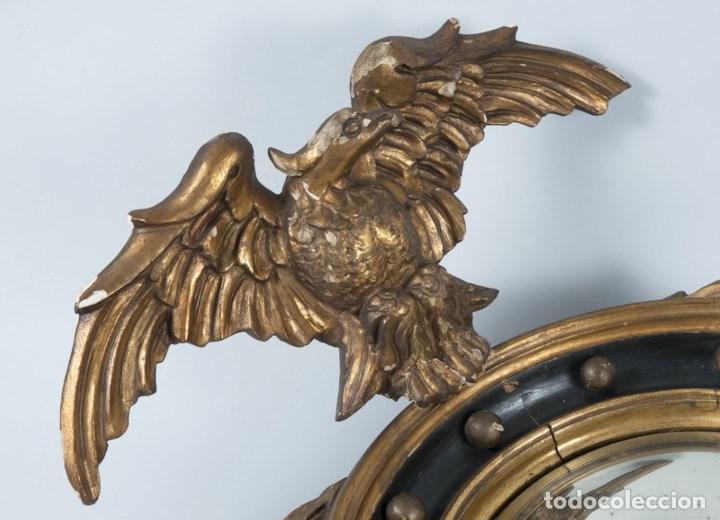 Antigüedades: ESPEJO ESTILO IMPERIO SIGLO XIX - Foto 3 - 85658564
