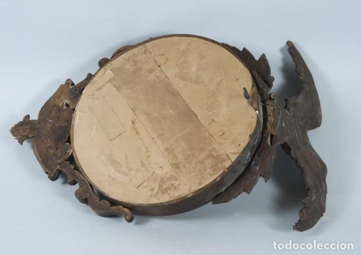 Antigüedades: ESPEJO ESTILO IMPERIO SIGLO XIX - Foto 4 - 85658564