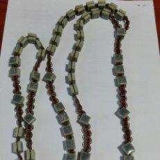 Antigüedades: GRAN ROSARIO DE TESELAS DE MARMOL. Lote 85670304