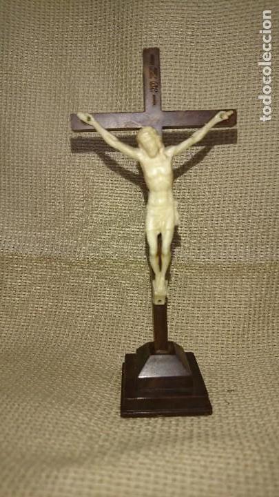 CRUCIFIJO CRISTO EN LA CRUZ (Antigüedades - Religiosas - Crucifijos Antiguos)