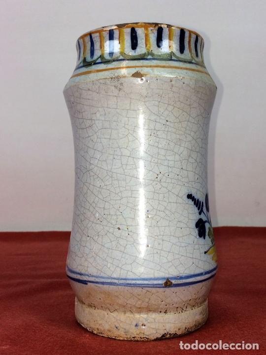 Antigüedades: ALBARELO-BOTE DE FARMACIA. CERÁMICA ESMALTADA. ESPAÑA(?). CIRCA 1950 - Foto 2 - 85730460