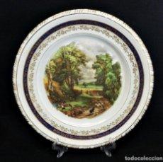 Antigüedades: PLATO 1920 DE SANTA CLARA DE VIGO. Lote 85736536