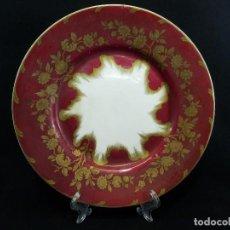 Antigüedades: ANTIGUO PLATO FRANCÉS S XIX DE PORCELANA PINTADA A MANO. Lote 85736680