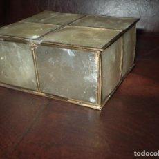 Antiquitäten - JOYERO DE NACAR Y LATON - 85757096