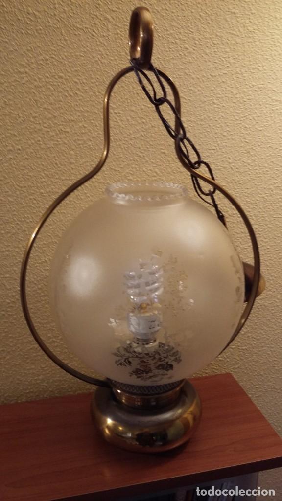 Antigüedades: LAMPARA TECHO - Foto 2 - 85758392