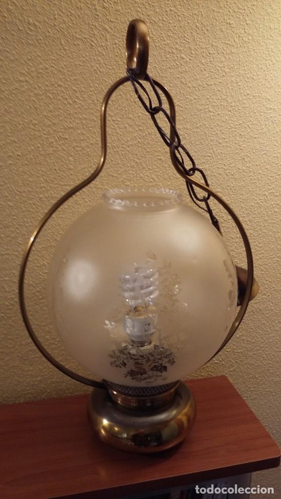 Antigüedades: LAMPARA TECHO - Foto 3 - 85758392