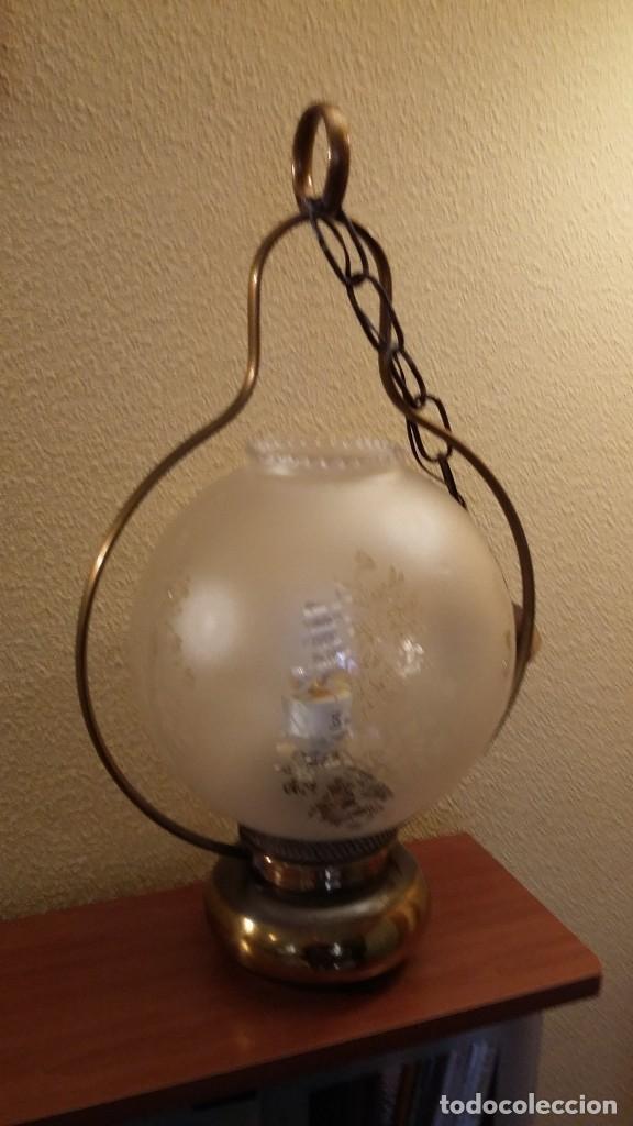 Antigüedades: LAMPARA TECHO - Foto 4 - 85758392