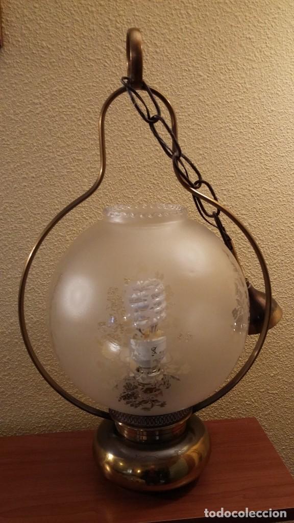 Antigüedades: LAMPARA TECHO - Foto 5 - 85758392