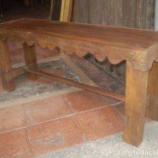 Antigüedades: BANQUETA REHECHA. Lote 85762524