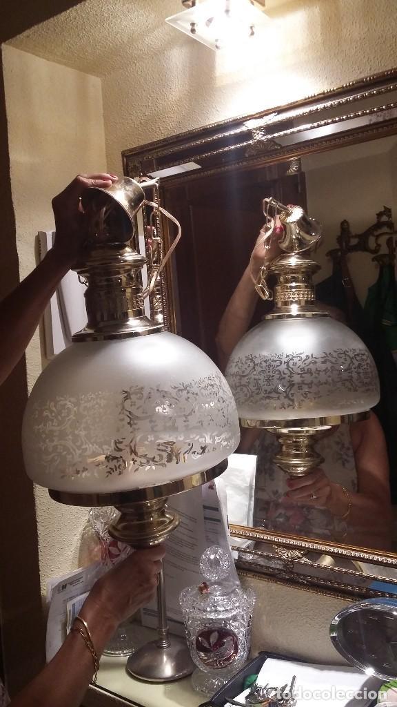 Antigüedades: LAMPARA TECHO - Foto 3 - 85764420