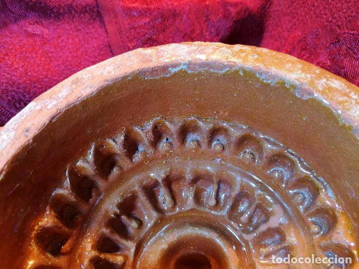 Antigüedades: ANTIGUO MOLDE MEMBRILLO MOTLLO CODONY CERAMICA ESMALTADA CATALANA SIGLO XIX MIRAVET--ORIGINAL - Foto 14 - 85769816