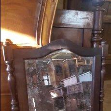 Antigüedades: ESPEJO BISELADO. Lote 85813116
