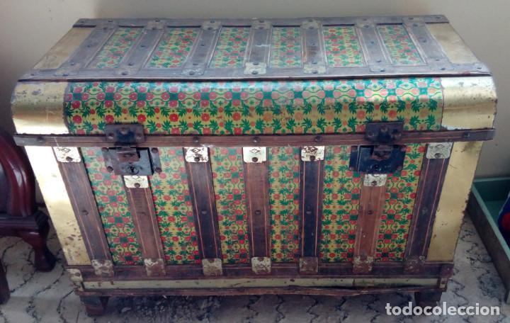 Baules antiguos segunda mano com anuncios de baules antiguos baules antiguos en asturias with - Wallapop muebles antiguos ...